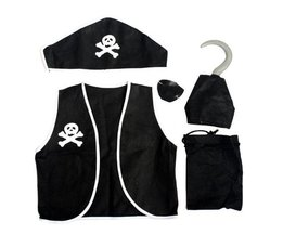 Piraten-Kostüm 5-In-1