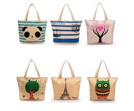 Shopper-Tasche Mit Aufdruck