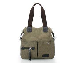 Ekphero Männer / Frauen Segeltuch-Handtasche