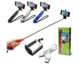 Selfie-Stick Mit Bluetooth Für Smartphones