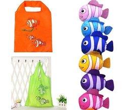 Faltbare Einkaufstasche Fisch