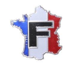 3D Car Logo Frankreich