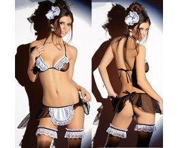 Sexy Reinigungs-Dame-Kostüm