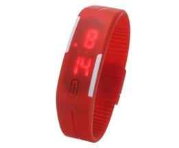 Silikon-Uhren In Fünf Farben