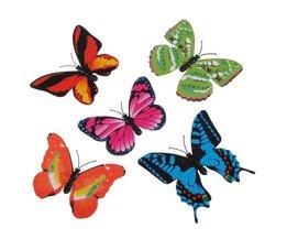 Kunst Schmetterlinge 3D