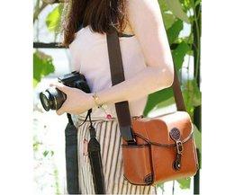 SLR-Tasche Braun Leatherette