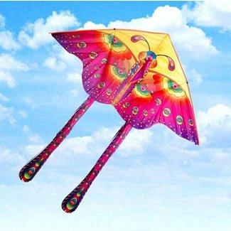 Drachen Mit Schmetterlings-Entwurf