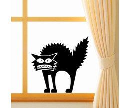 Fensteraufkleber Cat