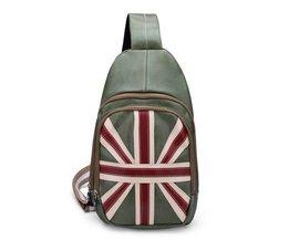 Tasche Mit Britischer Flagge PU-Leder