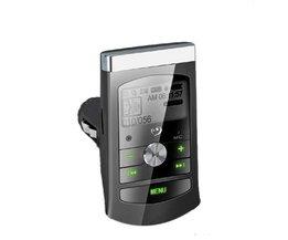 FM-Transmitter Mit LCD-Bildschirm