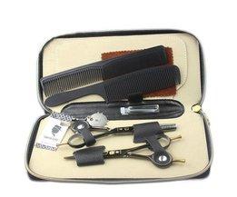 Professionelle Friseurscheren-Set