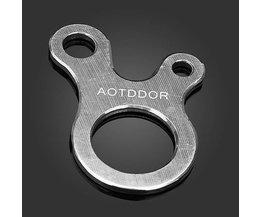 AOTDDOR Sicherung Mit 3 Löchern Für Das Klettern