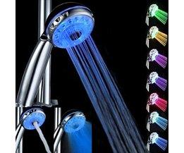 LED-Duschköpfe 7 Farben