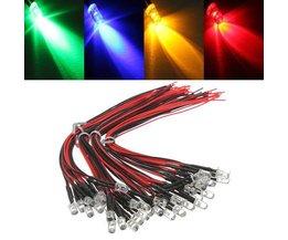 Bunte LED-Lampen 12V 10 Stück