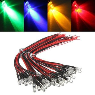 Bunte LED Lampen 12V 10 Stück