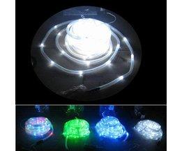 Wasserdichtes Solar-LED-Streifen 2 Meter