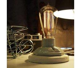 Industrielle Tischlampe