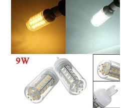 9W LED-Lampe Mit Weiß Oder Warmes Weißes Licht