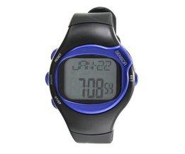 Unisex Digital-Uhr Mit Puls-Monitor-Kalorien