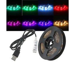 Wasserdichte LED-Streifen Mit USB 50/100/150/200 Cm