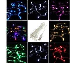 USB-Schnur Mit 20 LED-Leuchten