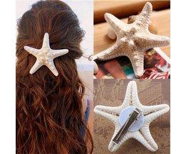 Haarspange Mit Starfish