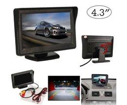 "LCD-Bildschirm Auto DVD 4.3 """