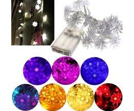 Lotus LED-Licht-Schnur In Mehreren Farben 2.5M