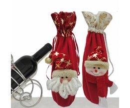 Wein Verpackung Weihnachten Weihnachtsmann 36CM