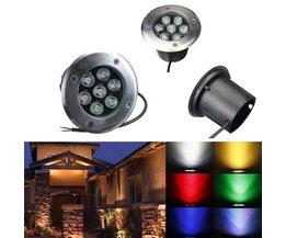 Wateridichte LED-Bodenbeleuchtung Für Den Außenbereich