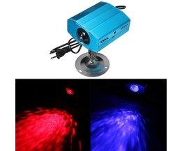 Party Beleuchtung LED-Farbe Welleneffekt