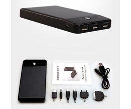 Bewegliche Energien-Bank 10000MAh 3 USB-Ports