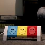 Farbiger Sockel