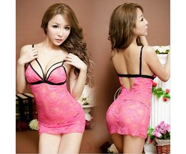 Sexy Nachtkleid In Zwei Farben Für Damen