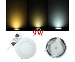 9W Runde LED-Deckenleuchte