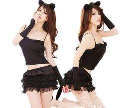 Sexy Catwoman-Kostüm