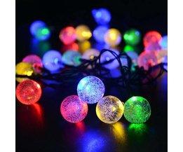 Wasserdichtes Solar-LED-Lichtgirlande