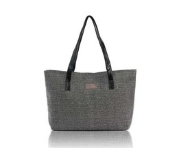 Canvas Shopper-Tasche