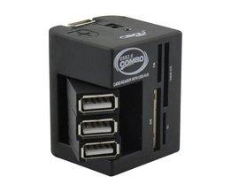Multifunktions-USB-Splitter Und Kartenleser