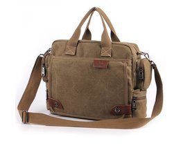 Retro Canvas Shoulder Bag For Men