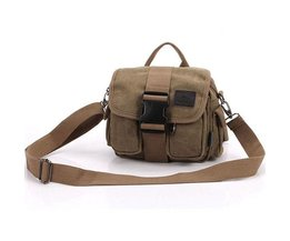 Shoulder Men Canvas Multifunctional