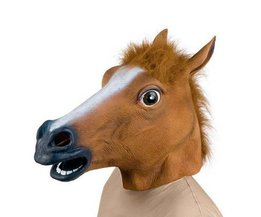 Horse Head Mask Latex