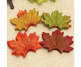 Huisdecoratieset Maple Leaves 50 Pieces