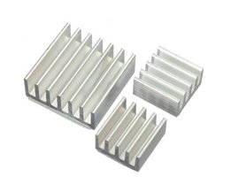 Aluminum Cooling Kit For Raspberry Pi (15 Pieces)