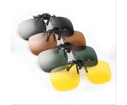 Clip On Sunglasses In Various Colors