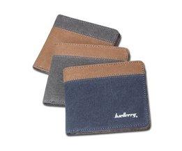 Blue Or Brown Wallet For Men