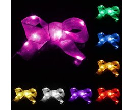 Bow With LED Lights In Various Colors 1M