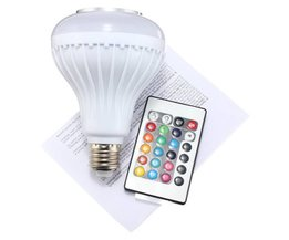 LED Lamp Speaker With Bluetooth