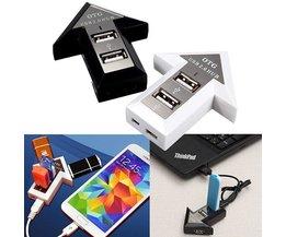 USB Hub For Computer And Smartphone