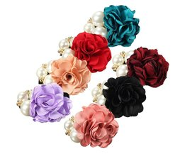 Hair Elastic With Rose